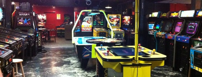 Dorky's Arcade is one of Video Game & Gamer Bars.