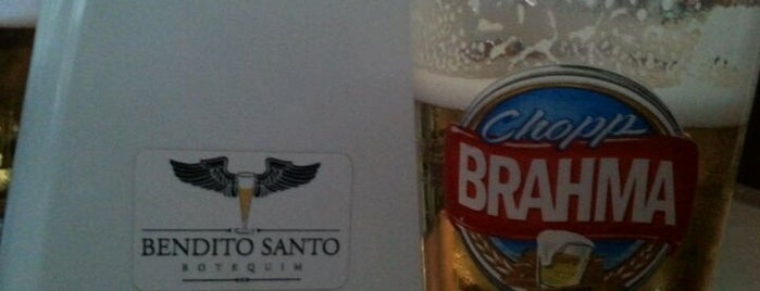 Bendito Santo Botequim is one of Top 10 - Melhores Botecos de Bauru.
