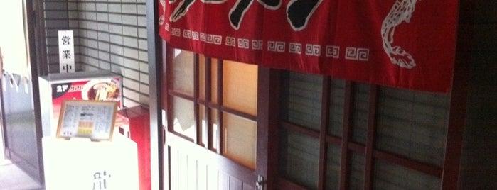 龍月館 is one of Ramen shop in Morioka.