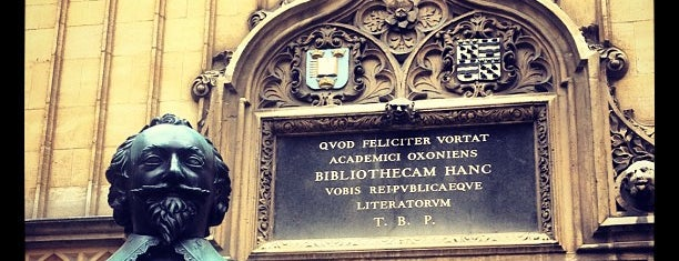 Bodleian Library is one of Harry Potter & The Mayor Of Diagon Alley.