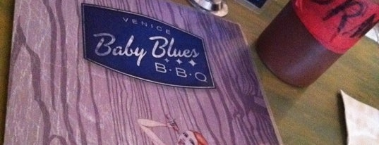 "Baby Blues BBQ is one of ""Diners, Drive-Ins & Dives"" (Part 1, AL - KS)."