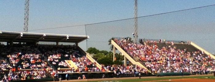 Joker Marchant Stadium is one of Grapefruit League.