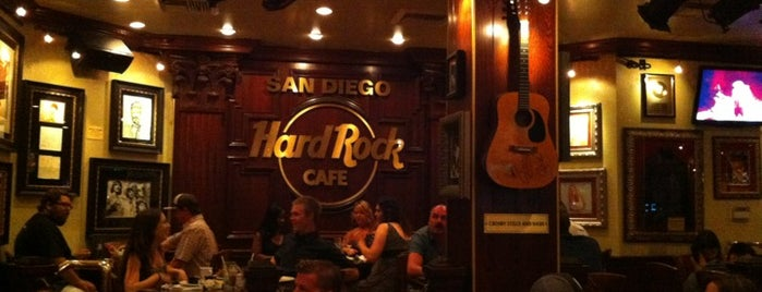 Hard Rock Cafe San Diego is one of HARD ROCK CAFE'S.