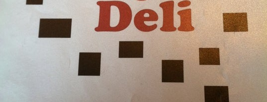 The Village Deli is one of B-town = Food Town!.