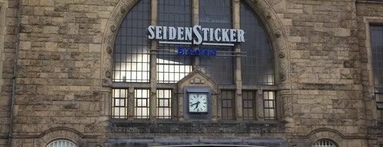 Bielefeld Hauptbahnhof is one of Bahnhöfe DB.