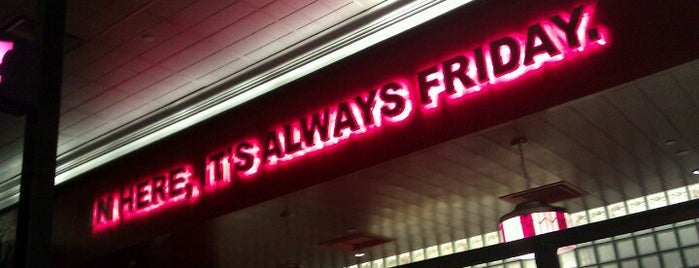 T.G.I. Friday's is one of My makan places.
