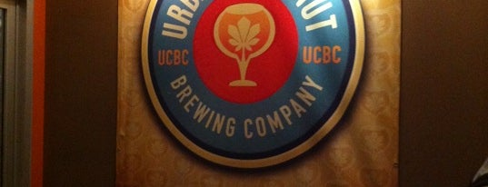 Urban Chestnut Brewing Company is one of St. Louis brewpubs.