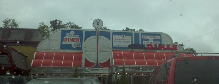 Jefferson Diner is one of Old stomping grounds, dirty jersey.