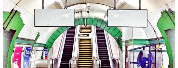 Warwick Avenue London Underground Station is one of Tube Challenge.