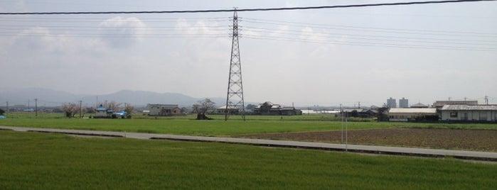 安武駅 (Yasutake Sta.) is one of JR.
