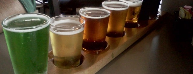Carolina Brewery & Grill is one of NC Beer Month.