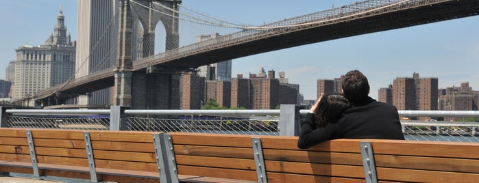 Brooklyn Bridge Park is one of The Most Romantic Locations in NYC Parks.