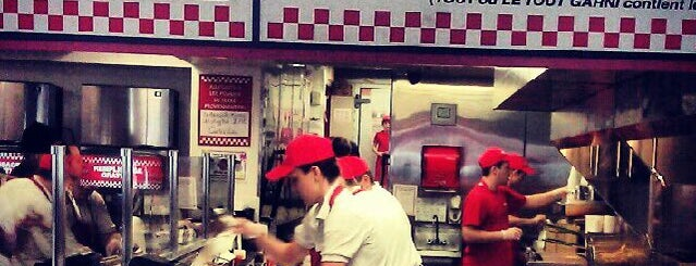 Five Guys is one of Montreal City Guide.