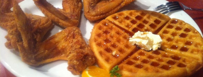 Gladys Knight's Signature Chicken & Waffles is one of To Do Restaurants.