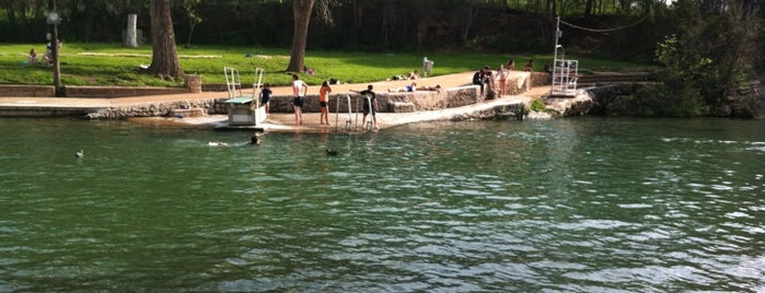 Barton Springs Pool is one of Hook 'Em Horns- Austin.