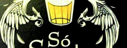 Só Santo Pizza Bar is one of Veja Comer & Beber ABC - 2012/2013 - Bares.