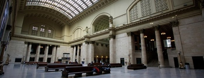 Chicago Union Station is one of Traveling Chicago.