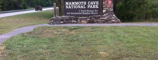 Mammoth Cave National Park is one of U.S. National Parks.