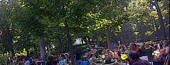 Ravinia Festival is one of The Crowe Footsteps.