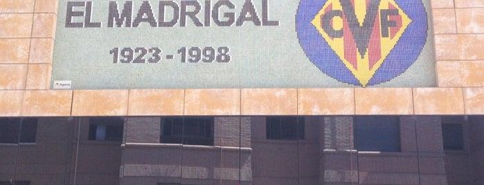 Estadio El Madrigal is one of Stadiums.