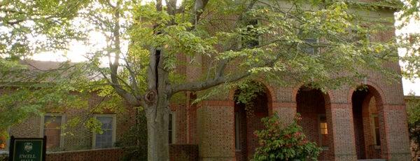 Ewell Hall is one of Academic Buildings.