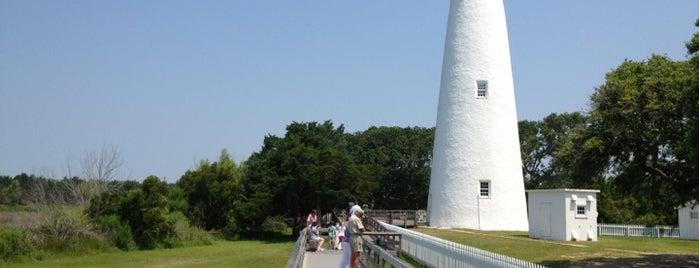 Ocracoke Lighthouse is one of North Carolina.