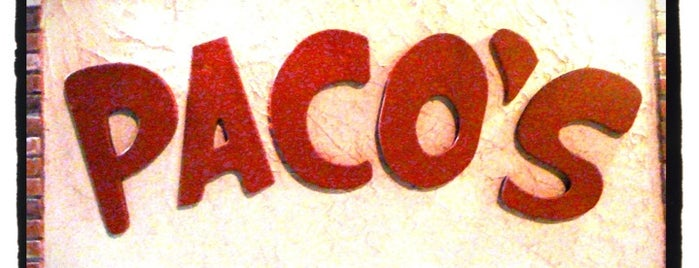 Paco's Tacos is one of 20 favorite restaurants.