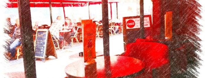 Paris Halles Café is one of France.
