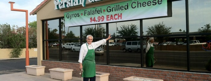 "Persian Garden Cafe is one of Featured on PBS' ""Check, Please! Arizona""."