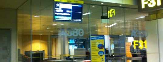 Gate F31 is one of SIN Airport Gates.