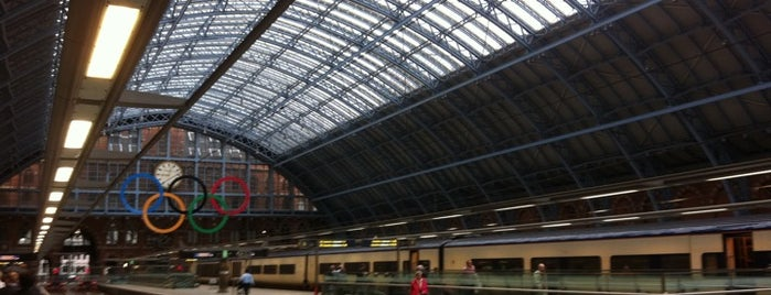 London King's Cross Railway Station (KGX) is one of London City Badge - London Calling.