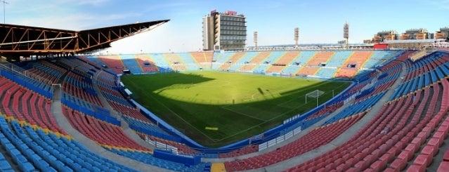 Estadi Ciutat de València is one of Stadiums.