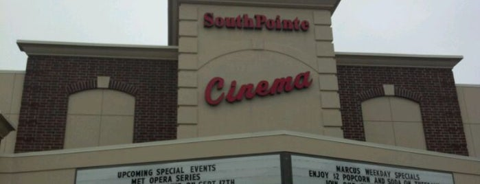Marcus South Pointe Cinema is one of Family Fun Places - Lincoln, NE.