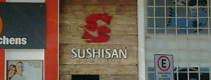 Sushi San is one of mi life.