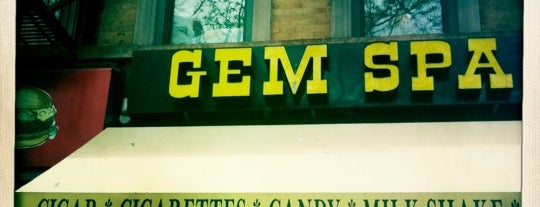 Gem Spa is one of New York Bucket List.