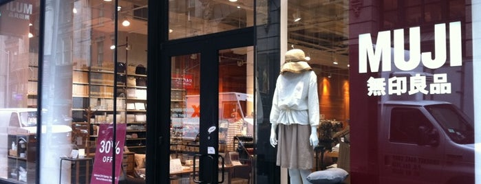 MUJI 無印良品 is one of Shops to visit | New York.