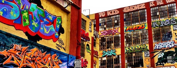 5 Pointz is one of Brooklyn.