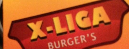 X-Liga Burgers is one of Restaurante.