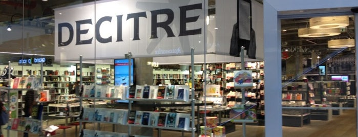 Decitre is one of Libraries and Bookshops.