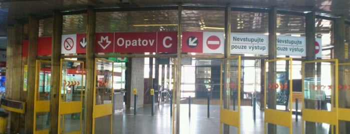 Metro =C= Opatov is one of Metro C.