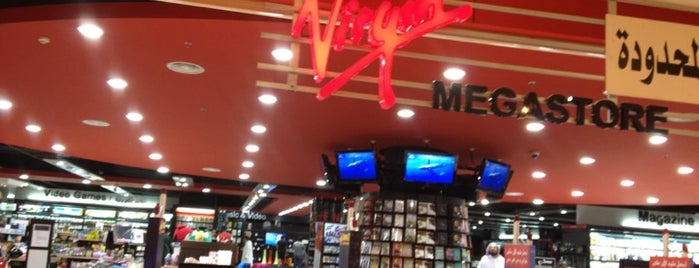 Virgin mega music store