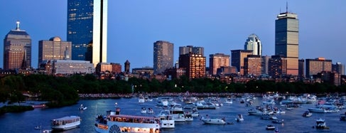 The Esplanade is one of Boston City Badge - Beantown.