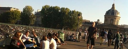 Pont des Arts is one of Paris City Badge - La Ville-Lumière.