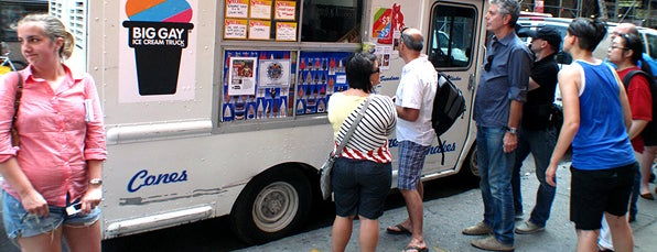 The Big Gay Ice Cream Truck is one of NYC To-Do.