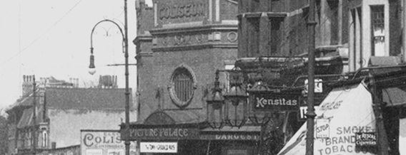 Coliseum Cinema (Site of) is one of Historic Sites in Harringay.