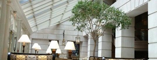 The Fairmont Washington, D.C. is one of Mike's Favorite Restaurants in DMV.