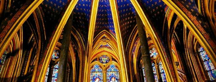 Sainte-Chapelle is one of First Time in Paris?.