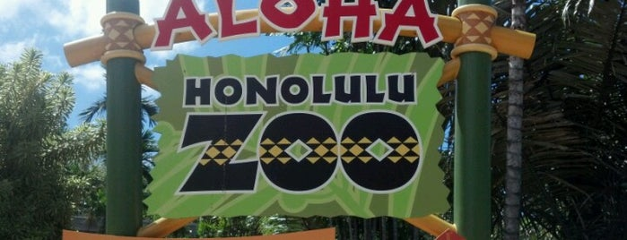 Honolulu Zoo is one of Favorites, Waikiki.