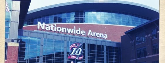 Nationwide Arena is one of JYM Hockey Arenas TOP100.
