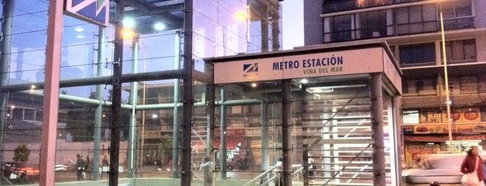 Metro Valparaíso - Estación Viña del Mar is one of mis.
